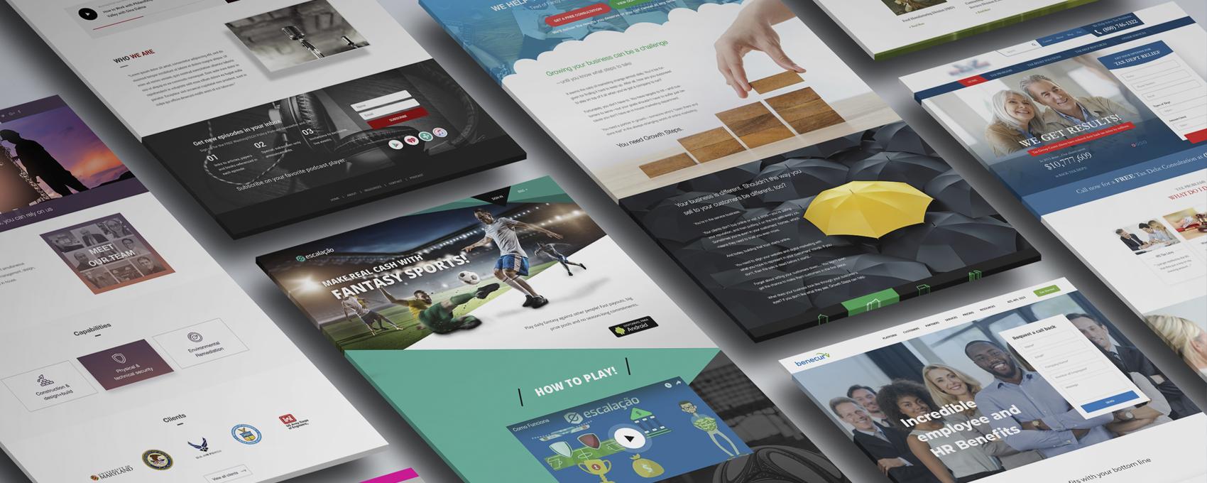 Portfolio de páginas web creadas por Soy Multimedia